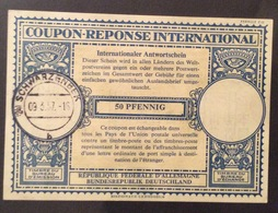 COUPON REPONSE INTERNATIONALE   GERMANIA REPUBBLICA FEDERALE 50 PFENNING - Posta