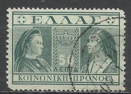 Greece 1939. Scott #RA62 (U) Queens Olga And Sophia * - Fiscaux