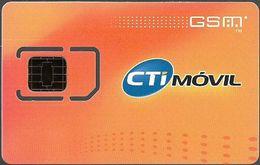Argentina - CTi Movil - Marco CTI Naranja GSM SIM2, Mint - Argentina