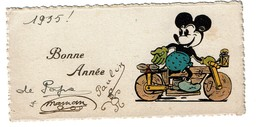 1935 - Mignonette Bonne Année - Mickey Mouse - 2 Scans - Disney