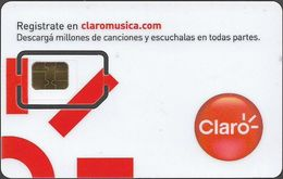 Argentina - Claro - X Marcos GSM White Card 4 (Type2) (Brilliant) GSM SIM 2 Mini, Mint - Argentina