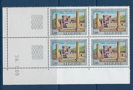 """Algerie Coins Datés YT 492 """" Festival """" Neuf** Du 24.1.69 - Algérie (1962-...)"""