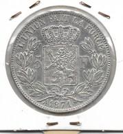 LEOPOLD 2 - 5 FRANK 1871 - 1865-1909: Leopold II