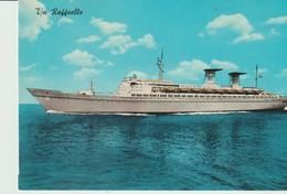 CP - PHOTO - Z/N RAFFAELLO - BATEAU - PAQUEBOT - 10 - LINEA ESPRESSO MEDITERRANEO NORD AMERICA - Steamers