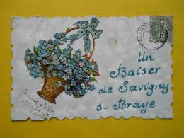 Savigny Sur Braye , Baiser ,chromo - Francia
