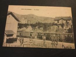 LES OLLIERES - La Gare - Autres Communes