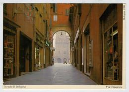 STRADE   DI  BOLOGNA     VIA  CLAVATURE           (VIAGGIATA) - Bologna