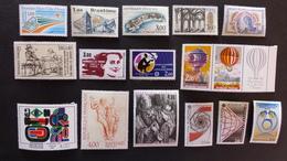FRANCE - Année 1983 - 40 Timbres ** Neuf Sans Charnière Tous Différents - Timbres