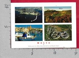 CARTOLINA VG MALTA - LA VALLETTA - Vedutine Multivue - 10 X 15 - ANN. 2005 GRILLU - Malta