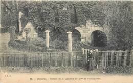 CPA 92 Hauts De Seine Meudon Bellevue Ruines De La Glacière De Mme Pompadour Non Circulée - Meudon
