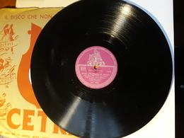 Cetra   -   1956.  Serie AC  Nr. 3081  -   Latilla, Boni, Cinico Angelini - 78 T - Disques Pour Gramophone