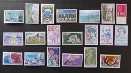 FRANCE - Année 1976 - 46 Timbres ** Neuf Sans Charnière Tous Différents - Timbres