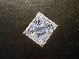 D.R.9  10Pauf20Pf - Deutsche Kolonien (Deutsch-Ostafrika) 1896 - Mi 6,50 € - Colony: German East Africa