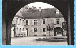 Vieux Château De Resteigne-Tellin-Lesse-La Cour Intérieure-Propriété De L'Ermite-Philosophe Edmond D'Hoffschmidt->1861 - Tellin