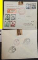 LETTRE D ALLEMAGNE PAR ZEPPELIN HINDENBURG  POUR LES USA  DE 1938 - Briefe U. Dokumente