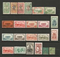MARTINIQUE  1 Lot De 22 Timbres Oblitérés Et Neufs - Collections (sans Albums)