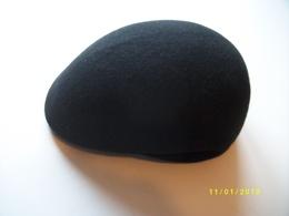 Casquette Neuve Noire 100%laine Taille 52 - Vintage Clothes & Linen