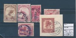 BELGIAN CONGO USED SELECTION - 1923-44: Gebraucht