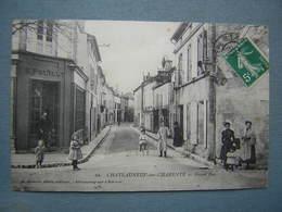 CHATEAUNEUF SUR CHARENTE - GRAND RUE - Chateauneuf Sur Charente