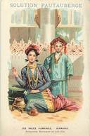 Pays Div -ref P457- Myanmar - Burma - Les Races Humaines -birmanie -princesse Birmane - Solution Pautauberge - - Myanmar (Burma)