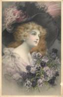 Fantaisie - Femme - Illustrateur Wichera - N° 633 - M.M. Vienne - M. Munk - Wichera