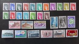FRANCE - Année 1978 - 63 Timbres ** Neuf Sans Charnière Tous Différents - Timbres