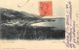 Pays Div -ref P456- Venezuela - Vista De La Guayra - Caracas /- Etat : Pli Coin Haut Droit Protégé Par Du Scotch - - Venezuela