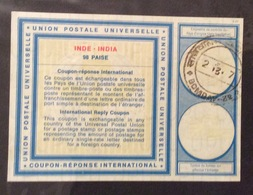 COUPON REPONSE INTERNATIONALE   INDIA INDE 98 Paise - Posta