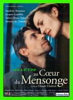 AFFICHE DE FILM - AU CŒUR DU MENSONGE FILM DE CLAUDE CHABROL, 1998 - - Affiches Sur Carte