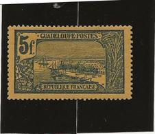 GUADELOUPE - N° 71 NEUF CHARNIERE - ANNEE 1905- 07 - Neufs