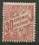 TUNISIE TAXE N° 31 NEUF** LUXE SANS CHARNIERE / MNH - Tunisie (1888-1955)