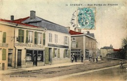 France - 08 - Stenay - Rue Porte De France - Couleurs - Other Municipalities