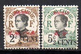 Col11   Hoi Hao N° 67 & 69 Neuf X MH  : 3,80 Euros - Hoï-Hao (1900-1922)