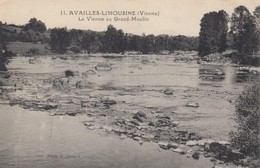 86 - Availles-Limousine - La Vienne Au Grand-Moulin - Availles Limouzine