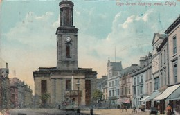 ELGIN , Scotland, UK, 1909 ; High Street - Moray