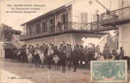 Sénégal - Saint Louis / 357 - La Compagnie Montée Des Tirailleurs Sénégalais - Sénégal