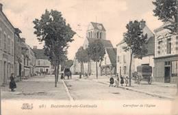 77 981 BEAUMONT DU GATINAIS Carrefour De L'Eglise - France
