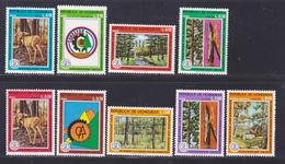 HONDURAS AERIENS N°  555 à 562, EXPRES 3 ** MNH Neufs Sans Charnière, TB (D8163) Protection De La Forêt - 1976 - Honduras