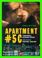AFFICHE DE FILM - APARTMENT No 5C UN FILM DE RAPHAEL NADJARI, 2003  - TINKERBELL & RICHARD EDSON - - Affiches Sur Carte