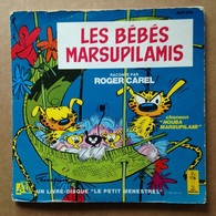 Spirou - Livre-disque Vinyle 45 Tours - Les Bébés Marsupilamis (1983) - Disques & CD