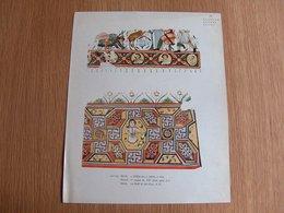 Lithographie Egypte Baouît 1er Moitié Du VII Siecle Aprés JC Vintage Print - Lithografieën