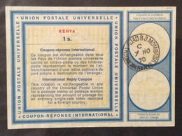COUPON REPONSE INTERNATIONALE  KENIA 1 S. - Posta