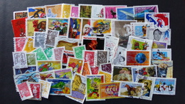 FRANCE - Année 1990 à 2018 - 260 Timbres Oblitérés Tous Différents - Stamps