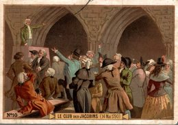 CHROMO LE CLUB DES JACOBINS  14 MAI 1790 - Andere