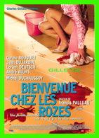 AFFICHE DE FILM - BIENVENUE CHEZ LES ROZES UN FILM DE FRANCIS PALLUAU EN 2003 - CAROLE BOUQUET & JEAN DUJARDIN - - Affiches Sur Carte