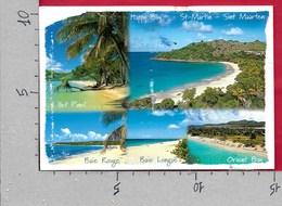 CARTOLINA VG ANTILLE OLANDESI - SAINT MARTIN - Plages Tropicales - 10 X 15 - ANN. 1999 VIAGGIATA NEGLI STATI UNITI - Saint-Martin