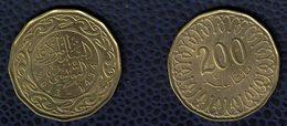 Tunisie 2013 Pièce De Monnaie Coin 200 Millim Tunisiens 2013 - 1434 SU - Tunisie