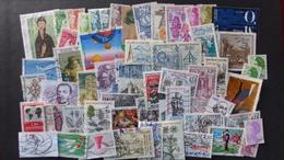 FRANCE - Année 1980 à 1989 - 170 Timbres Oblitérés Tous Différents - Stamps
