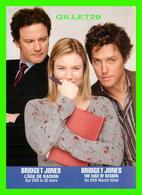 AFFICHE DE FILM - BRIDGET JONES, L'ÂGE DE RAISON EN 2005 - COURIR 2 LIÈVRES À LA FOIS PEUT ÊTRE AMUSANT ! - Affiches Sur Carte