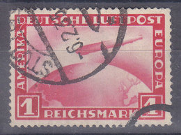 POSTE AERIENNE - MICHEL NUM 455 - OBL - COTE 45 EURO - Poste Aérienne